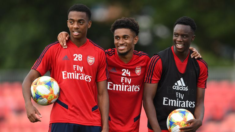 Joe Willock and Reiss Nelson have started both of Arsenal's first two Premier League games