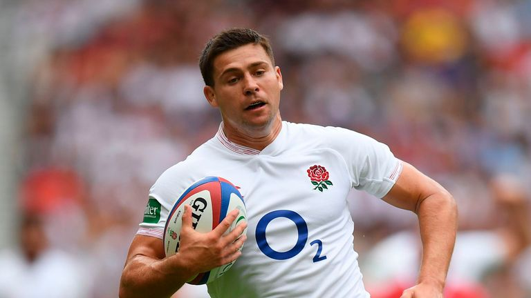 Ben Youngs came off the bench for England in their win over Wales