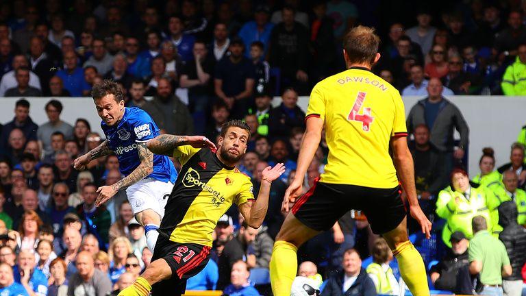 Bernard gives Everton a first-half lead