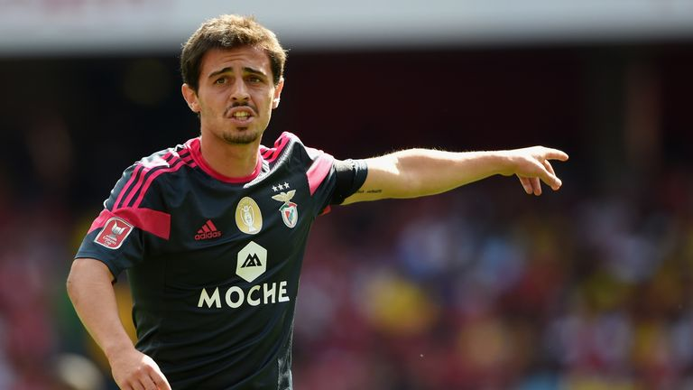 Bernardo was a talent at Benfica but did not get his opportunity there