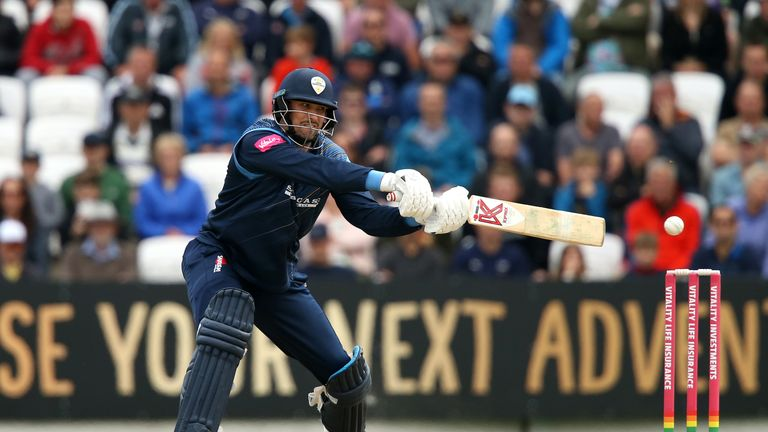 Billy Godleman had a previous T20 career-best 77