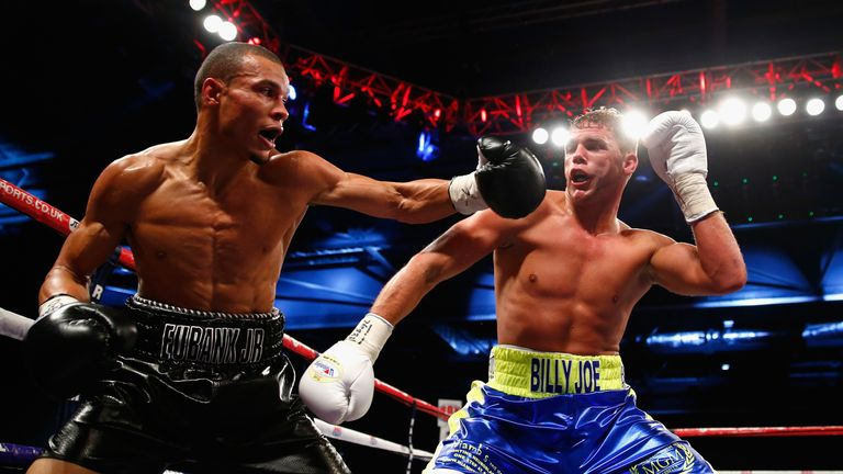 Saunders ended Eubank Jr's unbeaten record