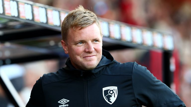 Eddie Howe says Bournemouth's poor record against Manchester City 'inspires' his side