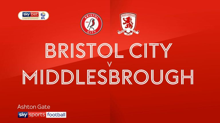 Highlights of the Sky Bet Championship between Bristol City and Middlesbrough