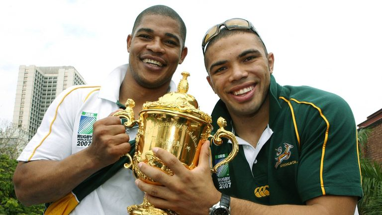 Habana tasted Rugby World Cup glory with the Springboks in 2007
