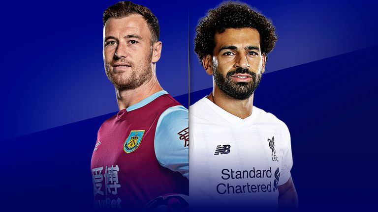 Watch Burnley vs Liverpool on Saturday from 5pm on Sky Sports Premier League; Kick-off 5.30pm