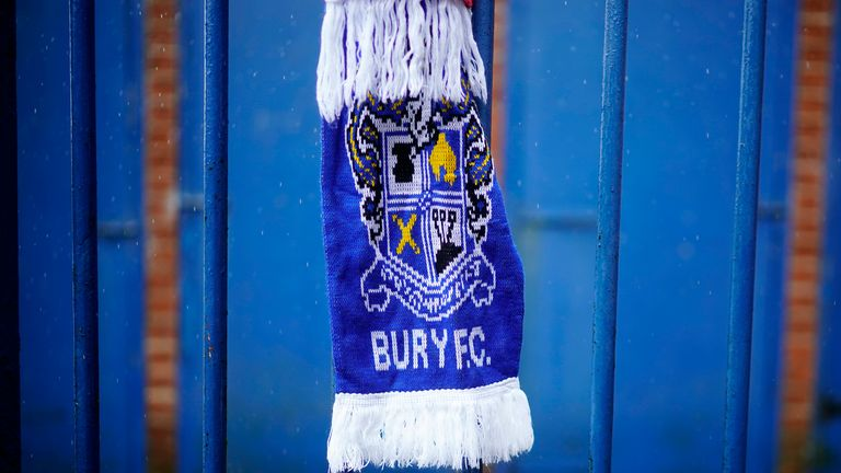 Bury owner Steve Dale has told Sky Sports News that four parties are interested in saving the club from liquidation