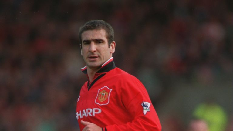 Eric Cantona made 143 appearances for Manchester United