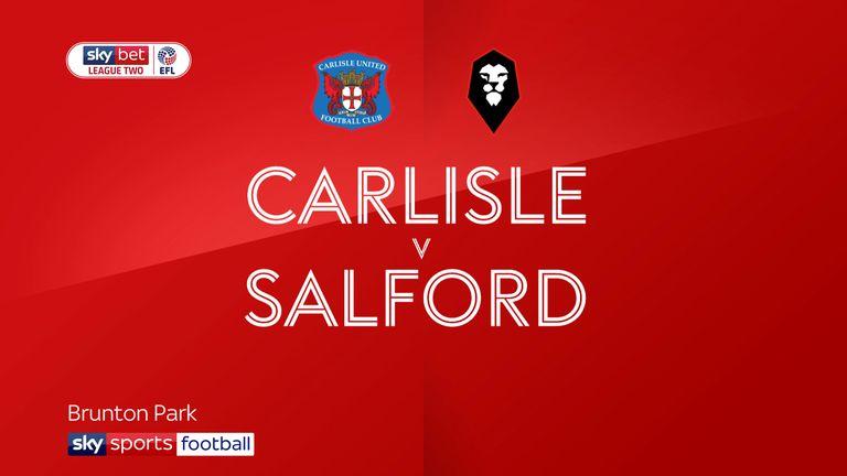 Carlisle v Salford