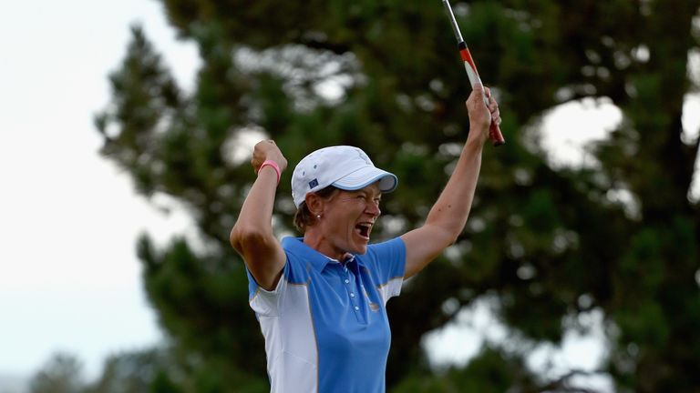 A look back at how Catriona Matthew secured Europe's only win so far on American soil