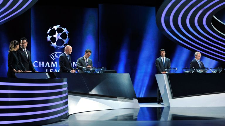 The Champions League group stage draw has been held in Monaco for a number of years
