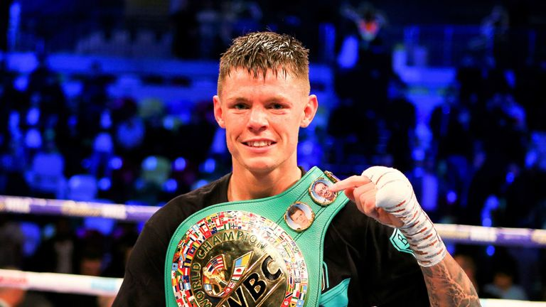 Charlie Edwards also defends his WBC lightweight belt in London