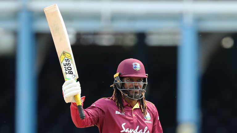 Chris Gayle became the all-time highest West Indian run-scorer in ODI cricket