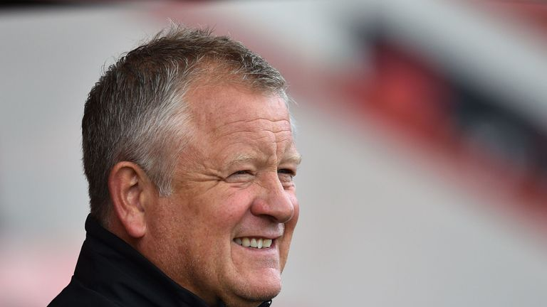 Sheffield United became League One champions, securing 100 points in the process, in Chris Wilder's first season in charge in charge