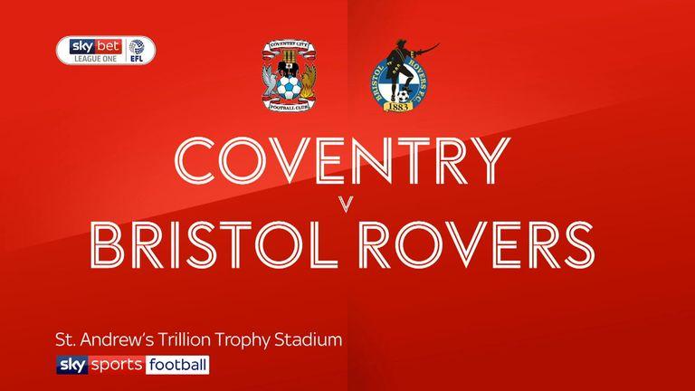 Cov v Bristol Rovers