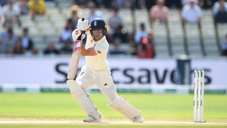 Rory Burns impressed at the top of the order for England in the Ashes