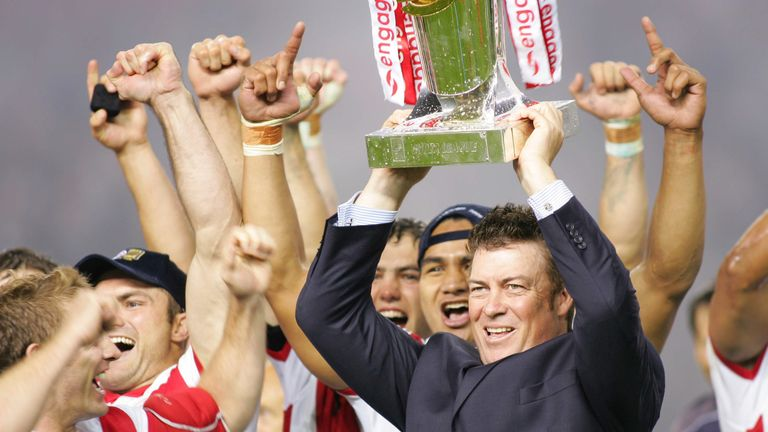 Daniel Anderson guided St Helens to the treble in 2006