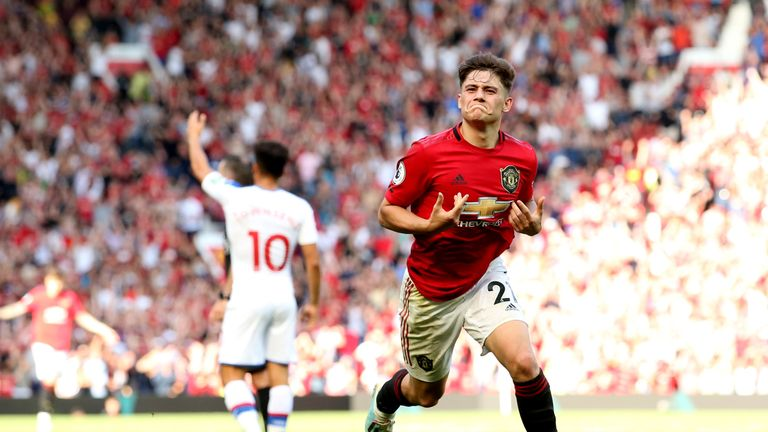 Daniel James picked up a knock against Leicester and will miss the match