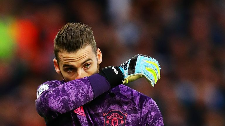 David de Gea joined Manchester United from Atletico Madrid in the summer of 2011 and is now in his ninth season at the club