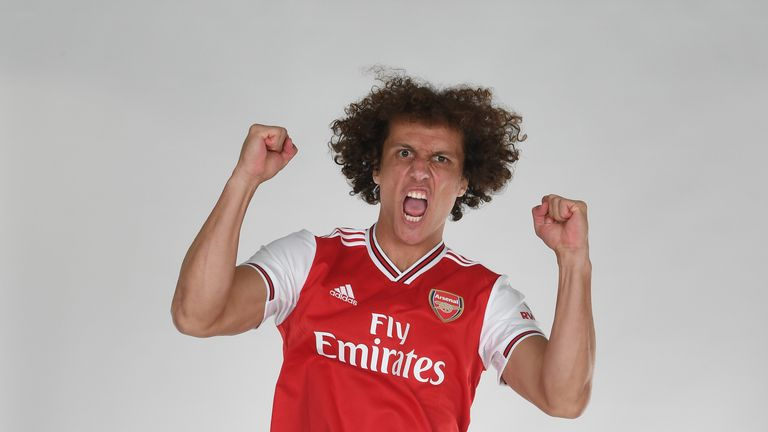 David Luiz joined Arsenal from Chelsea on Deadline Day