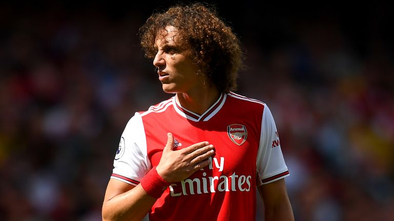 David Luiz completed a Deadline Day switch from Chelsea to Arsenal.