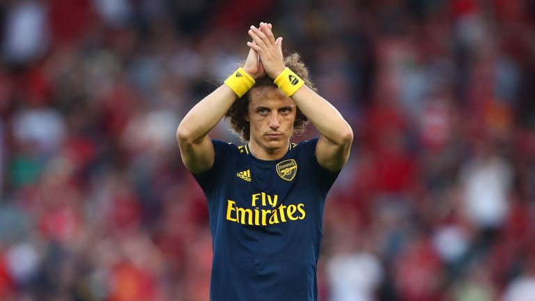 Luiz didn't have the best day at the office for Arsenal