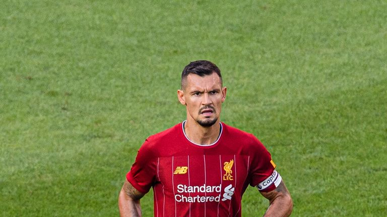 Dejan Lovren has fallen behind Virgil van Dijk, Joel Matip and Joe Gomez