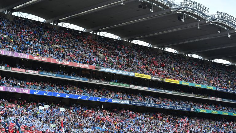 The ladies football final has continually smashed its own attendance records in recent years