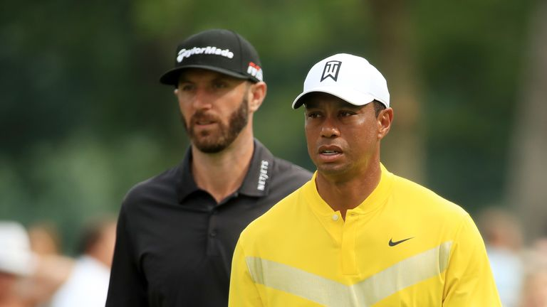 Tiger Woods is keen to be an Olympian, but Johnson is not so keen