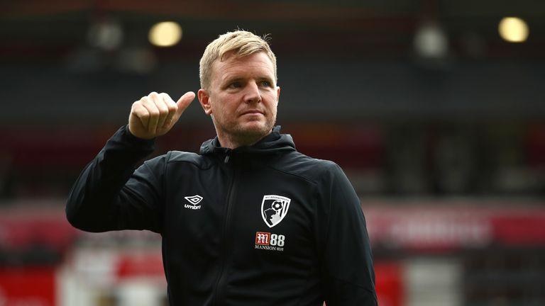 Bournemouth boss Eddie Howe