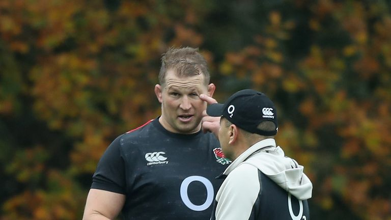 Dylan Hartley was Jones' captain, but will not travel to Japan