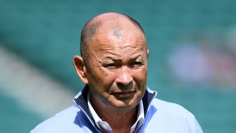 Eddie Jones says considering a player's character was equally as important as assessing their talent when he was naming his Rugby World Cup squad.