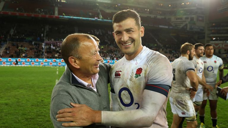 Jonny May is expected to be named in England's World Cup squad