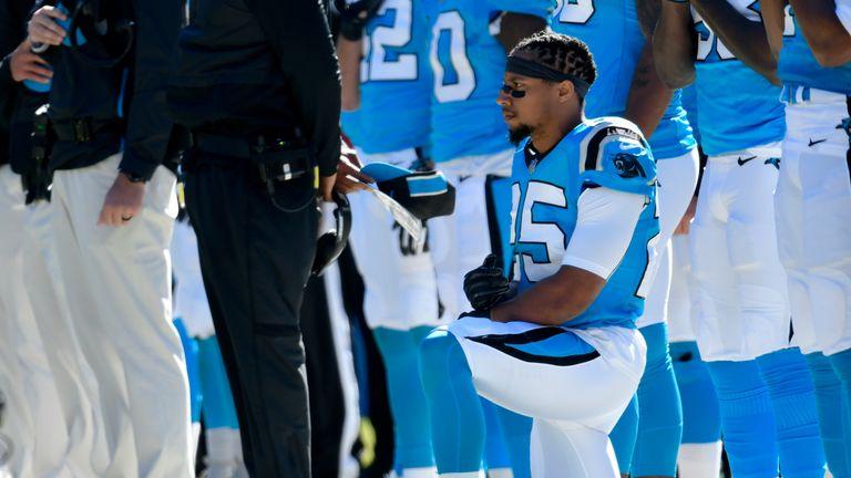 wholesale dealer 1daaf 1d573 Carolina Panthers' Eric Reid takes shot at NFL and Jay-Z ...
