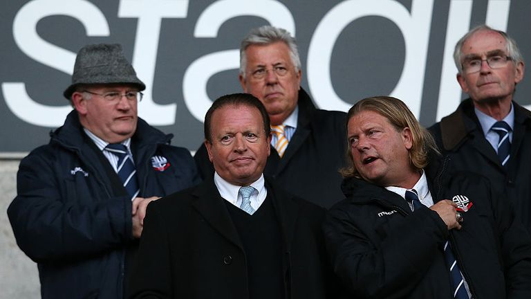 Bolton's joint-administrator Paul Appleton criticised the actions of former owner Ken Anderson