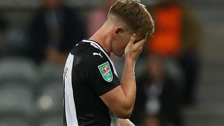 Matt Ritchie: Newcastle winger ruled out until January after second ankle operation
