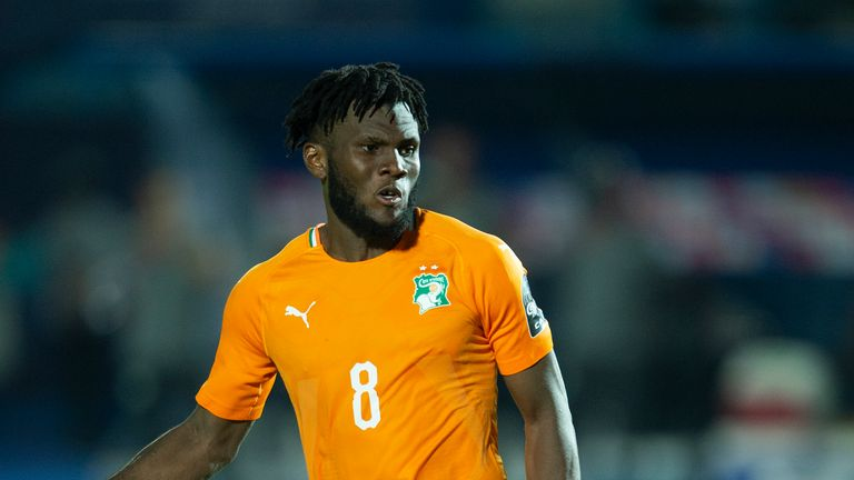 Franck Kessie of Ivory Coast