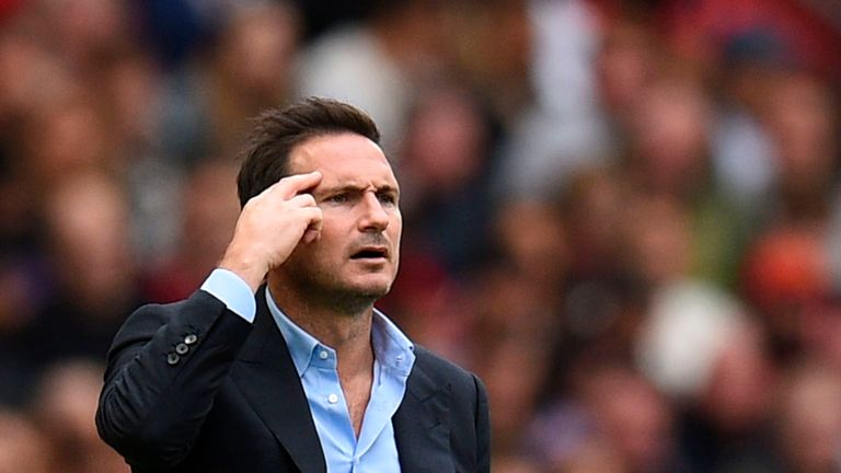 Frank Lampard expects his players to deliver a strong performance in the Super Cup final