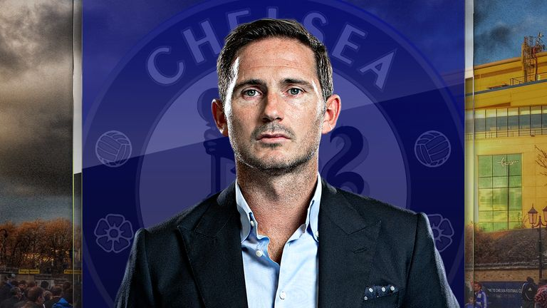 Chelsea's Frank Lampard is looking for his first win in charge on Sunday