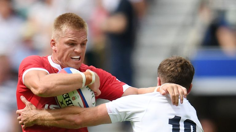 Gareth Anscombe has been ruled out of the World Cup with an ACL injury