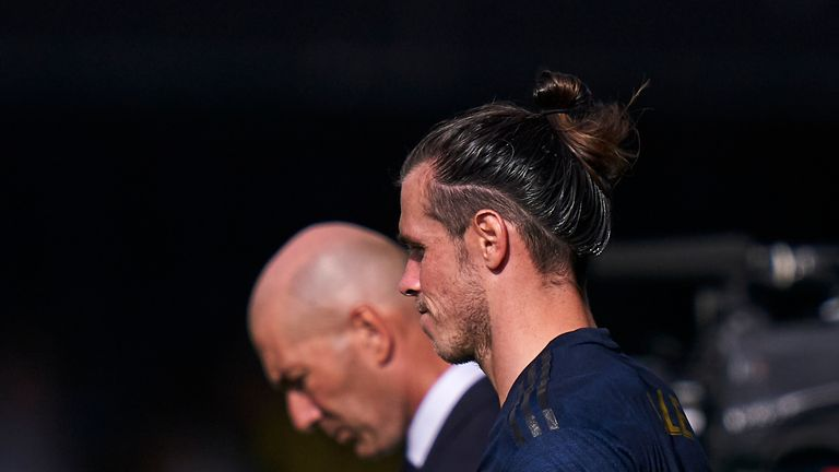 It appears Zidane and Bale have smoothed over any differences