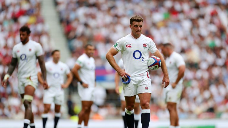 George Ford may have to be deployed as an emergency scrum-half in Japan