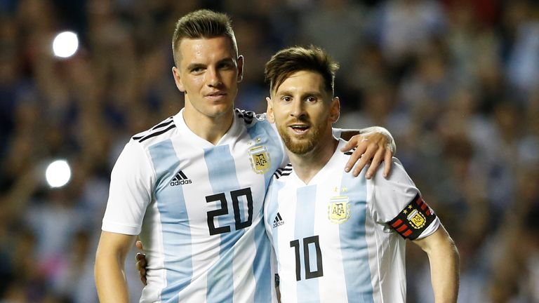 Lo Celso has appeared 19 times for Argentina, scoring twice