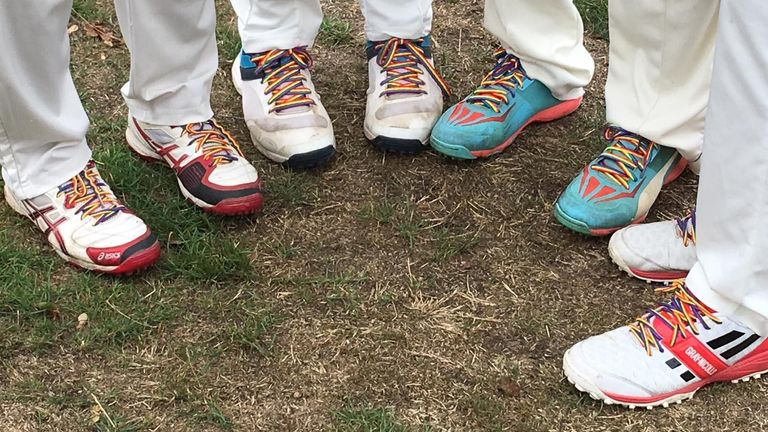 Stonewall's Rainbow Laces campaign is being activated in county cricket for the third year