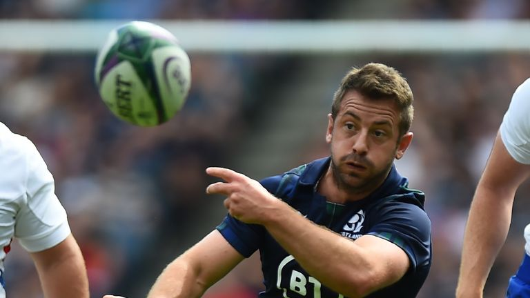 Greig Laidlaw was delighted with the mentality of Scotland against France