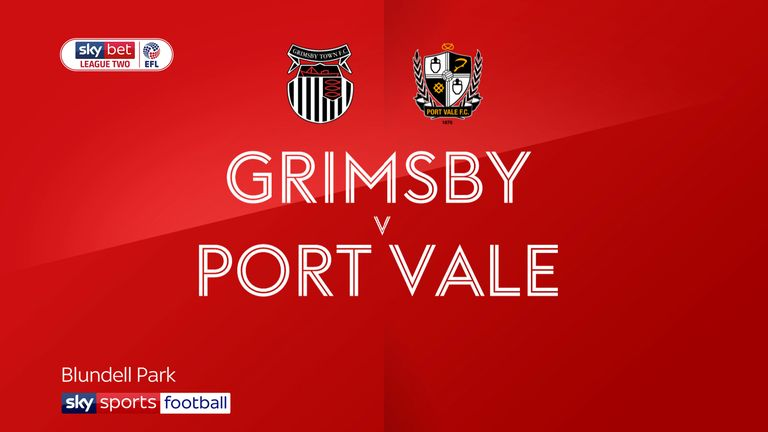 Grimsby v Port Vale