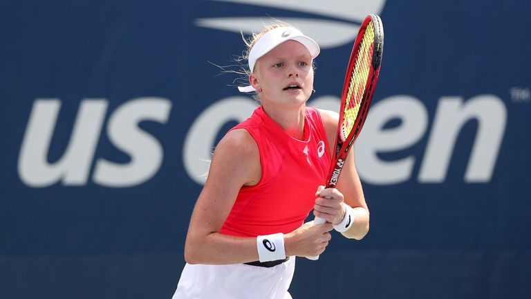Harriet Dart will play in the main draw at the US Open for the first time