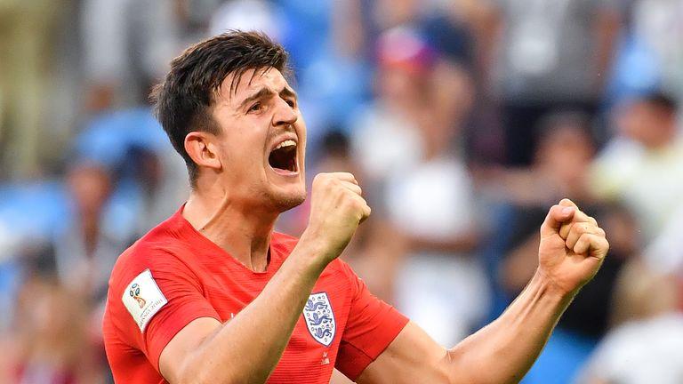 Maguire England v Sweden World Cup 2018