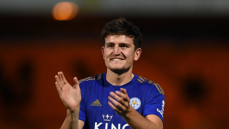 Man Utd have agreed an £80m deal to sign Harry Maguire from Leicester - Sky sources