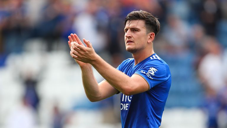 Harry Maguire is set to join Manchester United after two years at Leicester